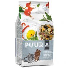 PUUR Chinchilla & Degu – gurmánské müslii pro činčily a degu 500 g