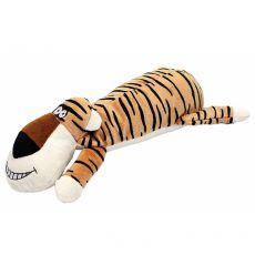 Plyšový pískací tygr, 36 cm