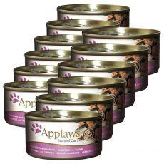 Applaws Cat - konzerva pro kočky s makrelou a sardinkami, 12 x 70g