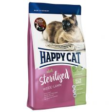 Happy Cat Sterilised Weide Lamm / Jehně 10 kg
