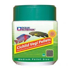 Ocean Nutrition Cichlid Vegi Pellets Medium 100g