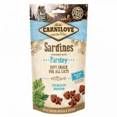 Carnilove Cat Semi Moist Snack Sardine enriched with Parsley 50 g