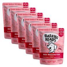 BARKING HEADS Beef Waggington GRAIN FREE 6 x 300 g
