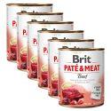 Konzerva Brit Paté & Meat Beef 6 x 800 g