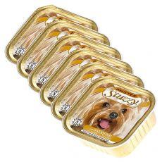 Vanička Mister STUZZY Dog – losos, 6 x 150 g