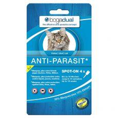Antiparazitní kapky pro kočky BOGADUAL Spot-On 4 x 0,75 ml