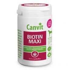 Canvit Biotin Maxi – přípravek na zdravou a lesklou srst 76 tbl. / 230 g