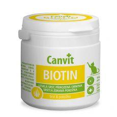 Canvit Biotin – přípravek na zdravou a lesklou srst koček, 100 g