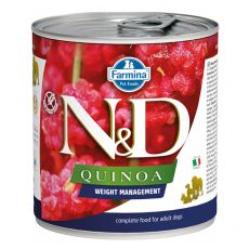 Farmina N&D dog Quinoa Weight Management 285 g