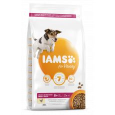 Iams Dog Senior Small Medium, Chicken 12 kg