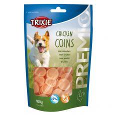 Trixie PREMIO Chicken Coins, kuřecí kolečka 100 g