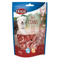 Trixie PREMIO Beef Coins, hovězí kolečka 100 g