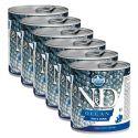 Farmina N&D dog Trout & Salmon konzerva 6 x 285 g, 5+1 GRATIS