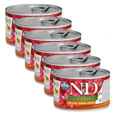 Farmina N&D dog Quinoa Herring & Coconut 6 x 140 g