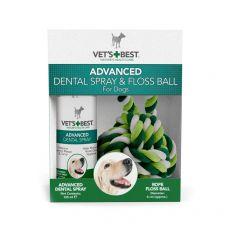 Dentální sprej + bavlněný míč VET´S BEST