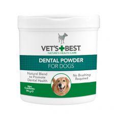 Dentální prášek na zuby pro psy Dental Powder VET´S BEST, 90 g