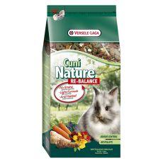 Cuni Nature Re-Balance 700 g - light krmivo pro zakrslé králíky