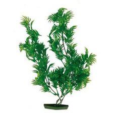 Rostlinka do akvária - plastová, 25 cm roztřepené listy