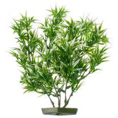 Rostlina do akvária -  plastová, 28 cm roztřepené listy
