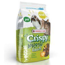 Crispy Muesli Rabbits 1 kg - krmivo pro králíky