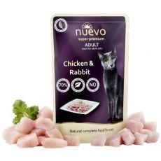 Kapsička NUEVO CAT Adult Chicken & Rabbit 85 g
