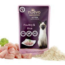 Kapsička NUEVO CAT Kitten Poultry & Rice 85 g