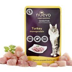 Kapsička NUEVO CAT Sensitive Turkey Monoprotein 85 g