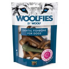 WOOLFIES Dental Fishbone for Dogs S 200 g