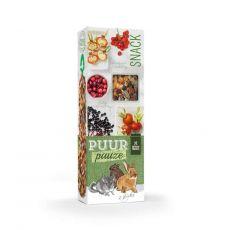 PUUR PAUZE sticks Forest Fruit – tyčinky s lesním ovocem pro hlodavce 2 ks