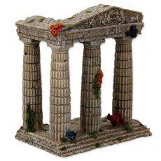 Dekorace do akvária Zřícenina chrámu 15,5 x 9,5 x 16,2 cm