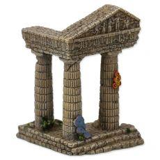 Dekorace do akvária Zřícenina chrámu 7,5 x 6,8 x 9,7 cm