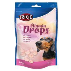 Trixie Vitamin Drops - vitamínové dropsy (jogurt) - 200 g