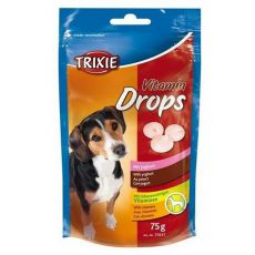 Trixie Vitamin Drops - vitamínové dropsy (jogurt) - 75 g