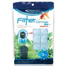 Náhradní filtrační vložky FC03 pro Resun GF400, 3 ks