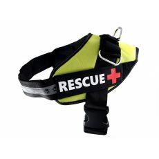 Postroj pro psy Rescue XXL 80–110 cm, zelený