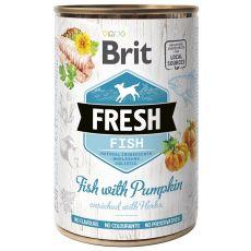 Konzerva Brit Fresh Fish with Pumpkin 400 g
