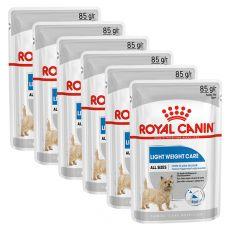 Royal Canin Light Weight Care Dog Loaf dietní kapsička s paštikou pro psy 6 x 85 g