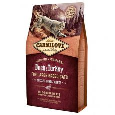 Brit CARNILOVE Duck & Turkey Adult Large Breed Cat 2 kg