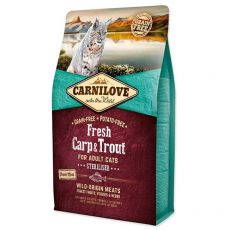 Brit CARNILOVE Fresh Carp & Trout Sterilised Adult Cat 2 kg