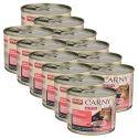 Krmivo CARNY KITTEN hovězí + krůtí srdce 12 x 200 g