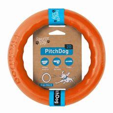 Hračka pro psa Pitch Dog 20 cm, oranžová