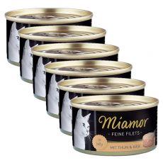 Konzerva Miamor Filet tuňák a sýr 6 x 100 g