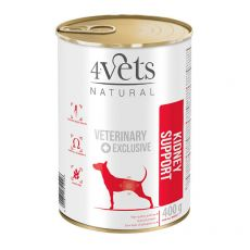4Vets Natural Veterinary Exclusive KIDNEY SUPPORT 400 g