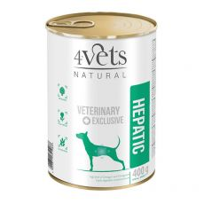 4Vets Natural Veterinary Exclusive HEPATIC 400 g