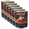 Konzerva ONTARIO Culinary Beef Goulash 6 x 800 g