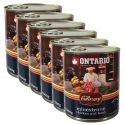 Konzerva ONTARIO Culinary Minestrone Chicken and Lamb 6 x 800 g