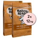 Barking Heads Top Dog Turkey Grain Free 2 x 12 kg
