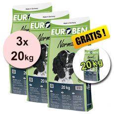 EUROBEN 25-10 Normal, 3 x 20 kg + 20 kg ZDARMA