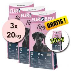EUROBEN 30-16 Puppy, 3 x 20 kg + 20 kg ZDARMA