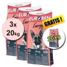 EUROBEN 31-21 Energy, 3 x 20 kg + 20 kg ZDARMA